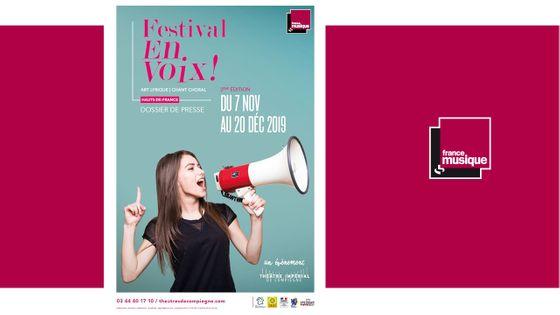 Festival En Voix ! Du 7 novembre au 20 décembre 2019 dans les Hauts-de-France
