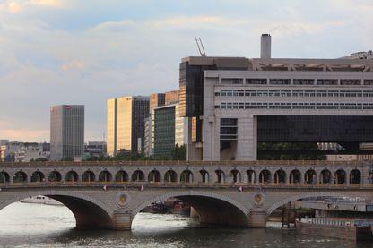 Le ministère de l'Economie, des Finances et de l'Industrie à Bercy (Paris)
