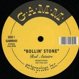 """Pochette de l'album """"Rollin' stone"""" par Red Astaire"""
