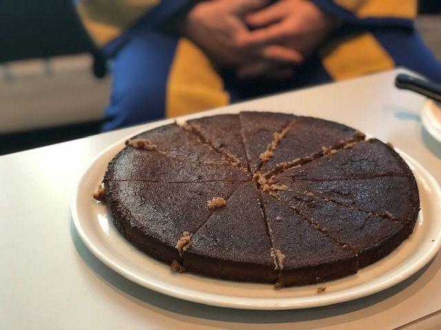 Recette du Gâteau à la Chataigne du chef Gomy de Villefort