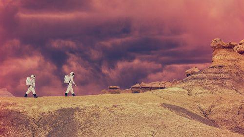 """Science-Fiction : mythes d'un futur proche (2/3) : """"Une odyssée martienne"""" de Stéphane Michaka"""