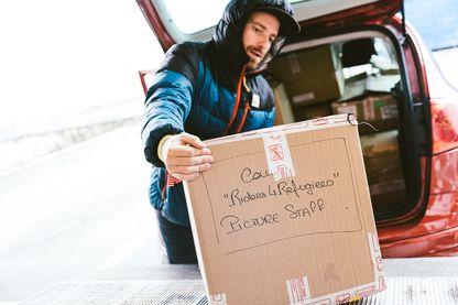Une collecte de vêtements chauds a été organisée pour les réfugiés dans les Alpes