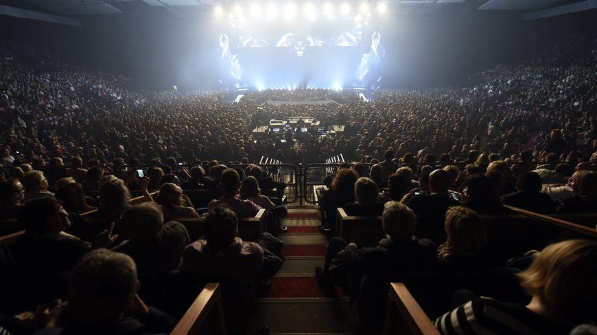 Le Galaxie d'Amnéville accueille des spectacles de premier plan comme Johnny Hallyday en 2015.