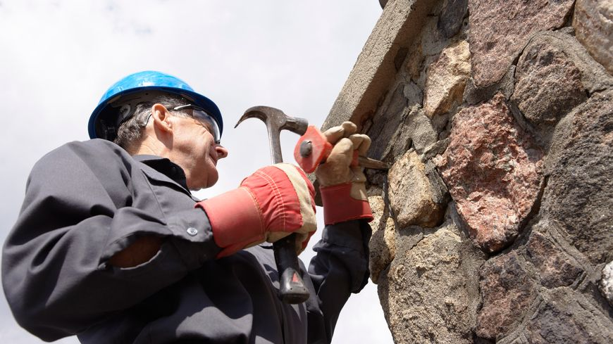Rénovation de bâtiment en pierre