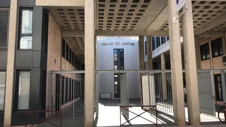 Le palais de justice de Draguignan où l'individu sera présenté à l'issue de sa garde à vue