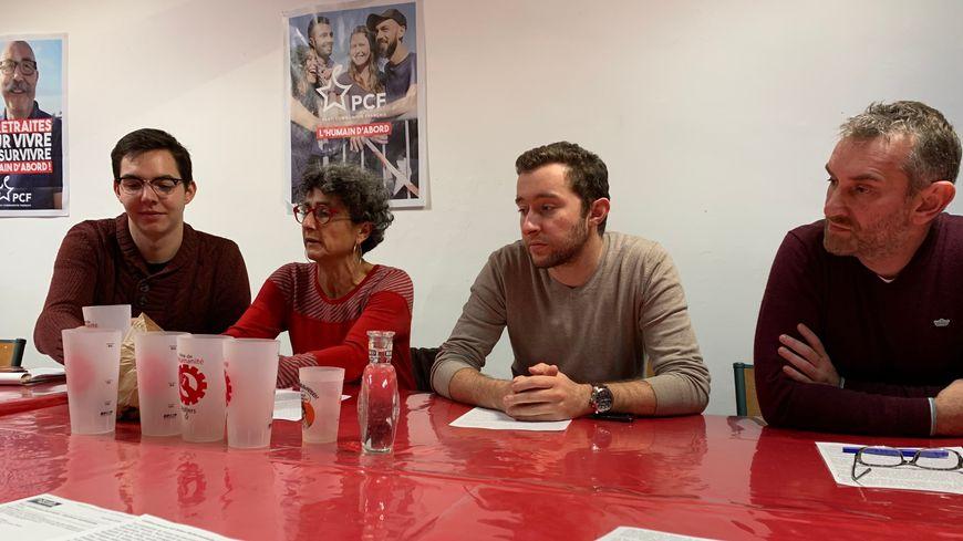 Kentin Plinguet-Anne Joulain-Hugo Blossier-Ludovic Lucaud exposent leur démarche