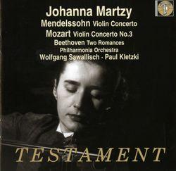 Concerto n°2 en mi min op 64 : Allegretto non troppo - Allegro molto vivace - JOHANNA MARTZY
