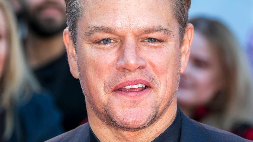 L'acteur américain Matt Damon