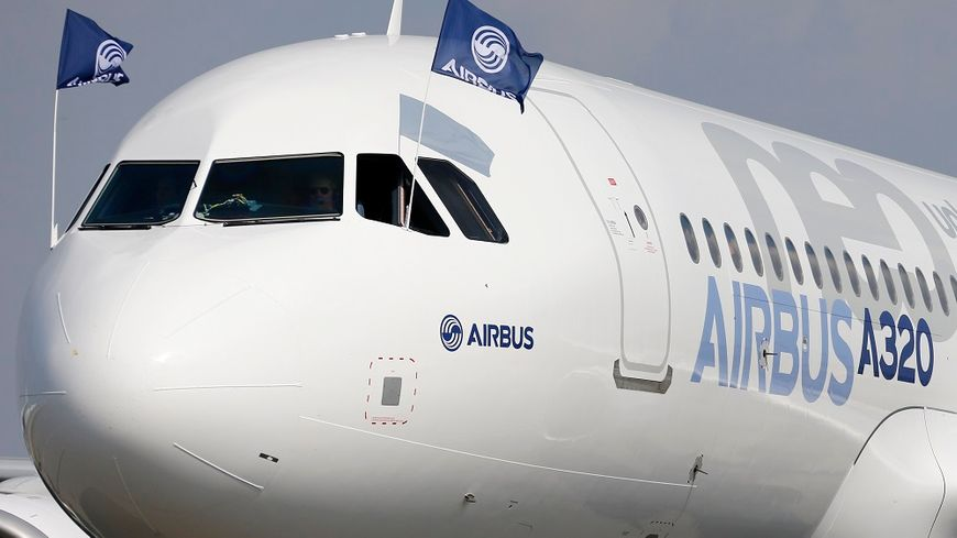 Un Airbus A320 neo à l'aéroport de Toulouse-Blagnac.