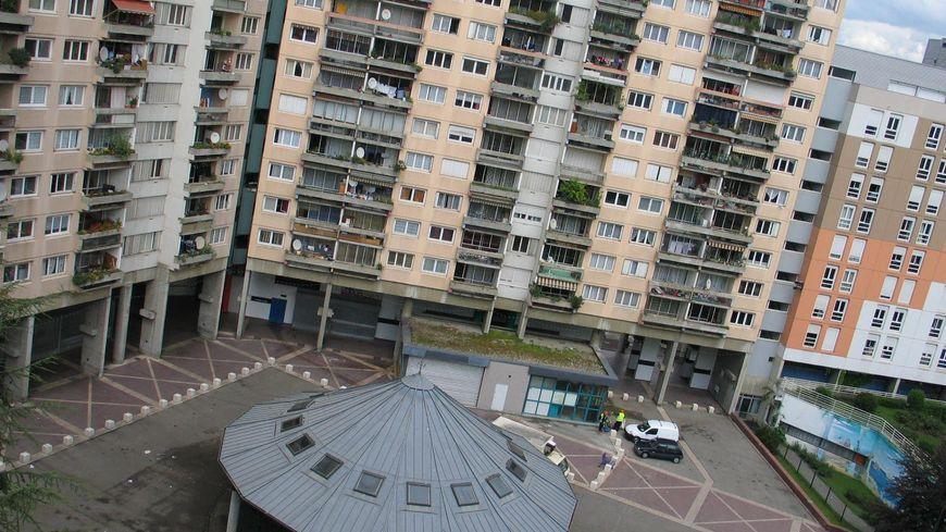 Le quartier de la Villeneuve à Grenoble