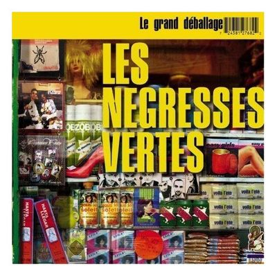 "Pochette de l'album ""Le grand deballage (best of)"" par Les Negresses Vertes"