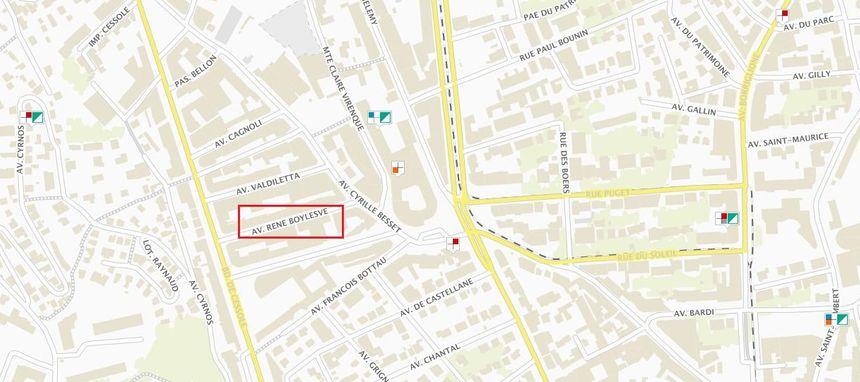 Les antennes-relais présentes à proximité de la rue René Boylesve - Aucun(e)
