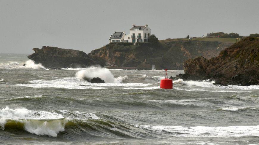 Une météo agitée sur les côtes bretonnes ce week-end de la Toussaint