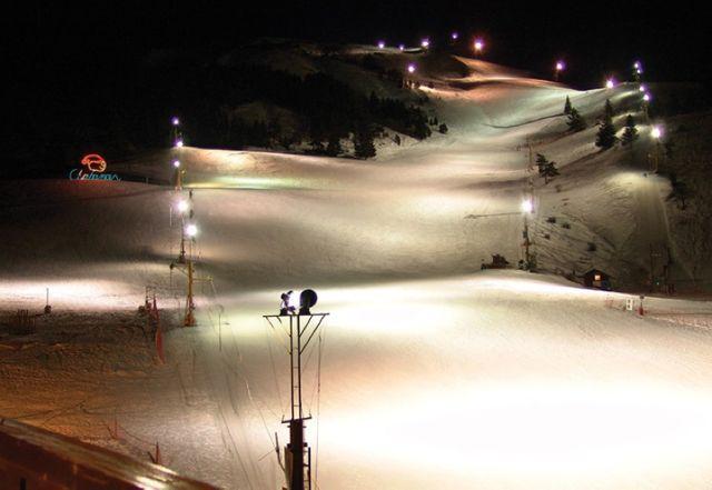 Dans la station de Chabanon on  peut skier de nuit (c)-OT-Chabanon