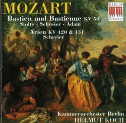 Bastien und Bastienne K 50 : Intrada (instrumental) - ADELE STOLTE