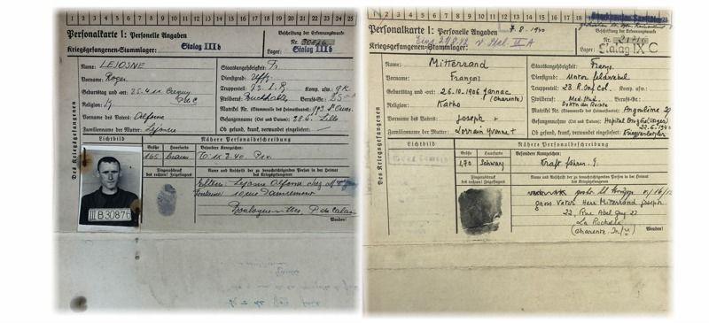 Des documents des archives, présentés lors de la visite