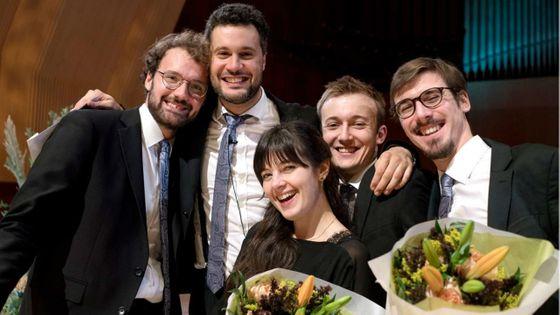 L' Ensemble Ouranos, vainqueur dans la catégorie quintette à vent au Concours International de Musique de Chambre Carl Nielsen