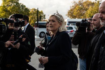 Marine Le Pen, leader du RN