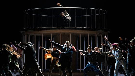 Florian Sempey dans Les Indes Galantes de Rameau