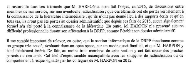 extrait du rapport de Françoise Bilancini