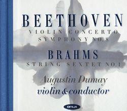 Concerto en Ré Maj op 61 : Allegro ma non troppo - pour violon et orchestre - AUGUSTIN DUMAY