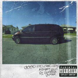 """Pochette de l'album """"Good kid maad city"""" par Kendrick Lamar"""