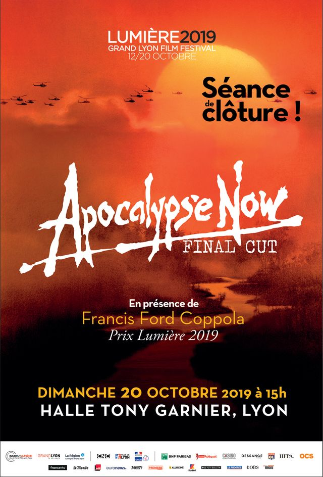 L'affiche officielle de la Séance de clôture Apocalypse Now Final Cut