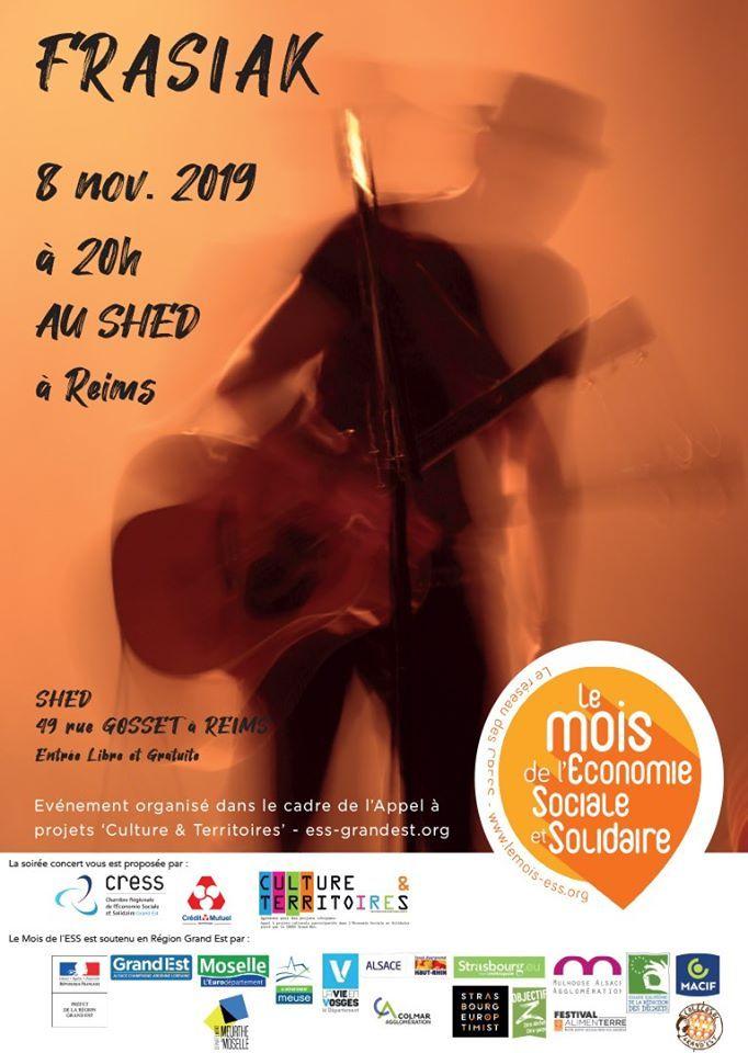 Frasiak en concert le 8 novembre 2019 à Reims