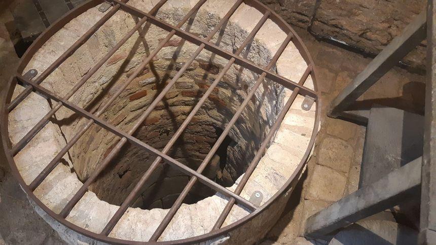 Un des 3 puits retrouvé dans la maison