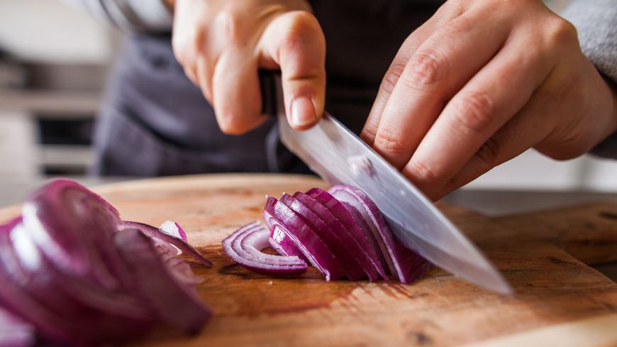 Utiliser le bon couteau pour émincer