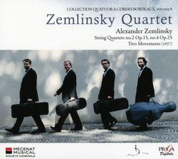Quatuor à cordes n°4 op 25 : Burlesque - Quatuor Zemlinsky