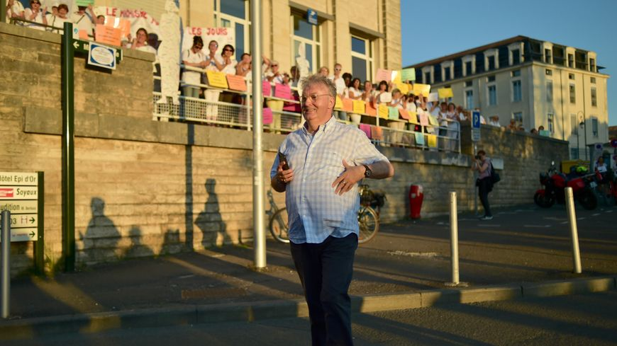 C'est toujours le producteur et acteur Dominique Besnehard qui concocte ce festival (ici à Angoulême l'été dernier)