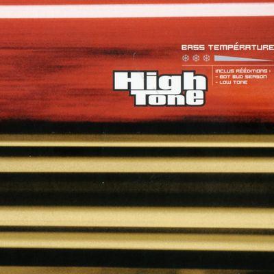 """Pochette de l'album """"Bass température"""" par High Tone"""