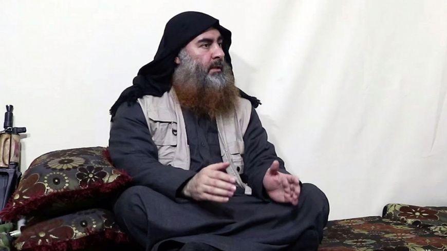 Le chef du groupe Etat islamique, Abou Bakr Al-Baghdadi, tué lors d'une opération militaire américaine le 27 octobre 2019