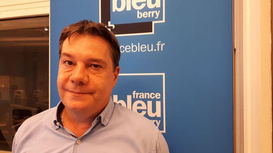 Christophe Dupas est le directeur de l'agence d'attractivité de l'Indre