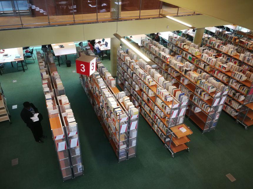 Vue de la Bibliothèque Droit-Lettres