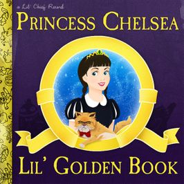 "Pochette de l'album ""Lil' golden book (extrait)"" par Princess Chelsea"