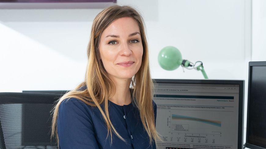 Maud Wagner, 26 ans, reçoit le prix l'Oréal UNESCO des Jeunes talents pour les femmes et la science