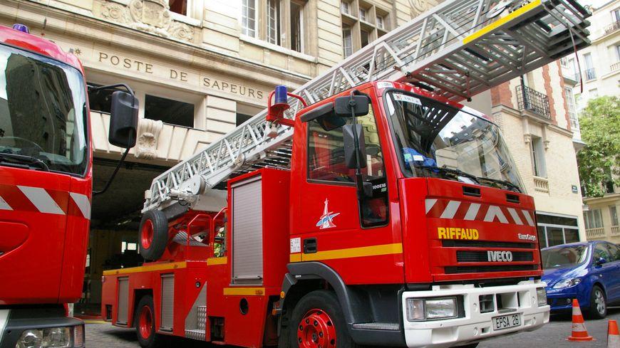 Un incendie en cours dans le 9è arrondissement de Paris.