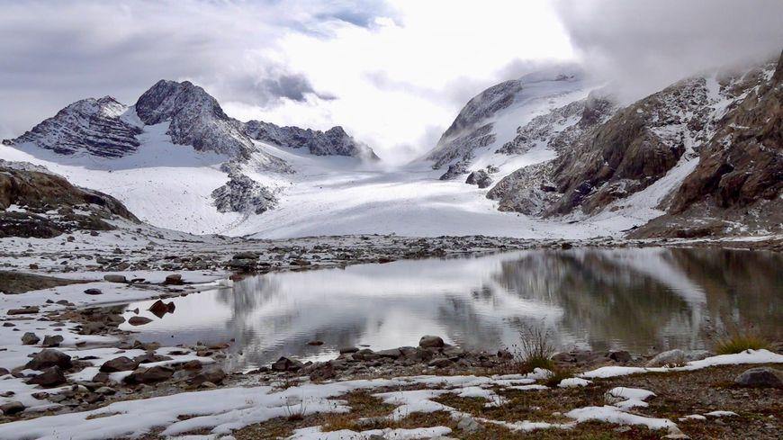 Le glacier de Saint-Sorlin début octobre 2019