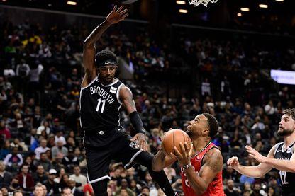 Match de NBA : Toronto Raptors versus Brooklyn Nets