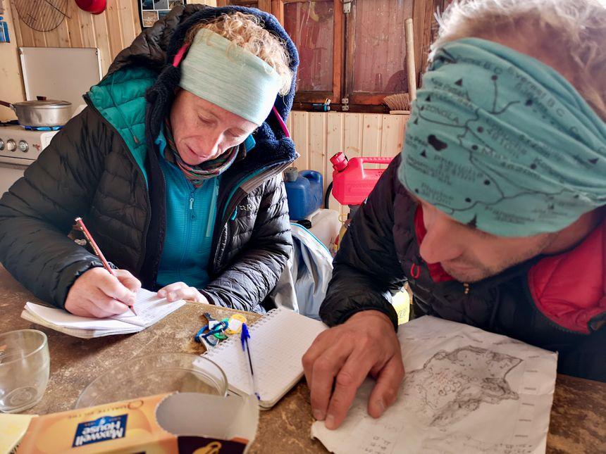 Les glaciologues de l'IGE ont une petite cabane près du glacier de Saint-Sorlin à 2.700 mètres d'altitude