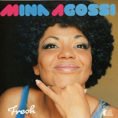 """Pochette de l'album """"Fresh"""" par Mina Agossi"""
