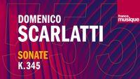 Scarlatti : Sonate pour clavecin en Ré Majeur K 345 L 306 (Allegro), par Olivier Baumont