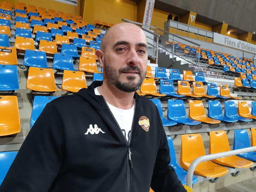 Germain Castano, à Orléans le 28 octobre 2019