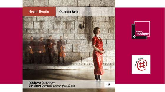 Sortie CD : Daniel D'Adamo: Sur Vestiges - Franz Schubert: Quintette à Cordes en Ut Majeur