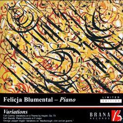 Variations sur l'hymne Gott erhalte den Kaiser de Haydn op 73 : Variation n°5 - FELICJA BLUMENTHAL