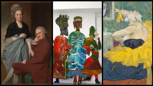 """Arts Plastiques : """"Toulouse-Lautrec Résolument moderne"""", """"L'Âge d'or de la peinture anglaise de Reynolds à Turner Chefs d'œuvre de la Tate Britain"""", """"Anna Boghiguian"""""""