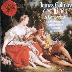 Concerto en ré min Wq 22 H 425 : Allegro di molto - James Galway