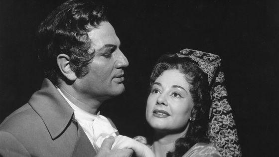 Erika Köth et Ernst Haefliger au Deutsche Oper de Berlin en 1962